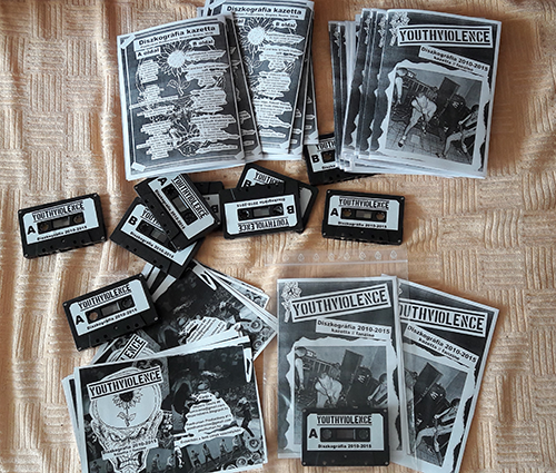 Youth Violence tape and fanzine